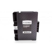 Kompatible Gelkartusche zu Ricoh 405761/GC-41K, black