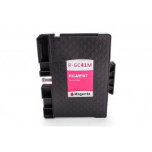 Kompatible Gelkartusche zu Ricoh 405763/GC-41M, magenta