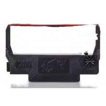 Kompatibles Farbband zu Epson C43S015376/ERC38BR, black/red