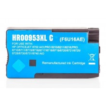 Kompatible Druckerpatrone zu HP 953XL / F6U16AE, cyan (ECO)