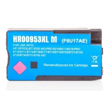 Kompatible Druckerpatrone zu HP 953XL / F6U17AE, magenta (ECO)