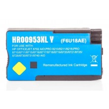 Kompatible Druckerpatrone zu HP 953XL / F6U18AE, yellow (ECO)