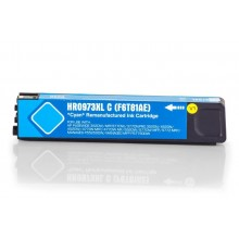 Kompatible Druckerpatrone zu HP F6T81AE / 973X, cyan (ECO)