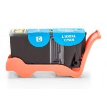Kompatible Druckerpatrone zu Lexmark 100 XL, cyan (mit Chip)
