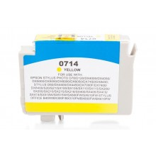 Kompatible Druckerpatrone zu Epson T0714, yellow